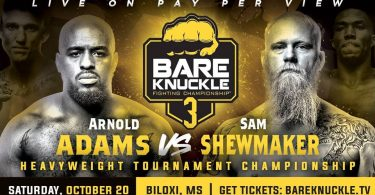 BARE KNUCKLE BOXING FIGHTING CHAMPIONSHIP 3: Adams vs Shewmaker 7
