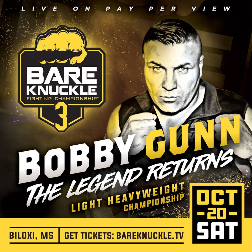 BARE KNUCKLE BOXING FIGHTING CHAMPIONSHIP 3: Adams vs Shewmaker 2