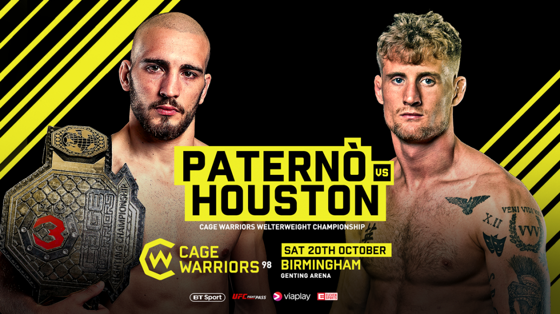 Risultati Cage Warriors 98: Paternò vs Houston (aggiornamento con Video e cartellino) 1