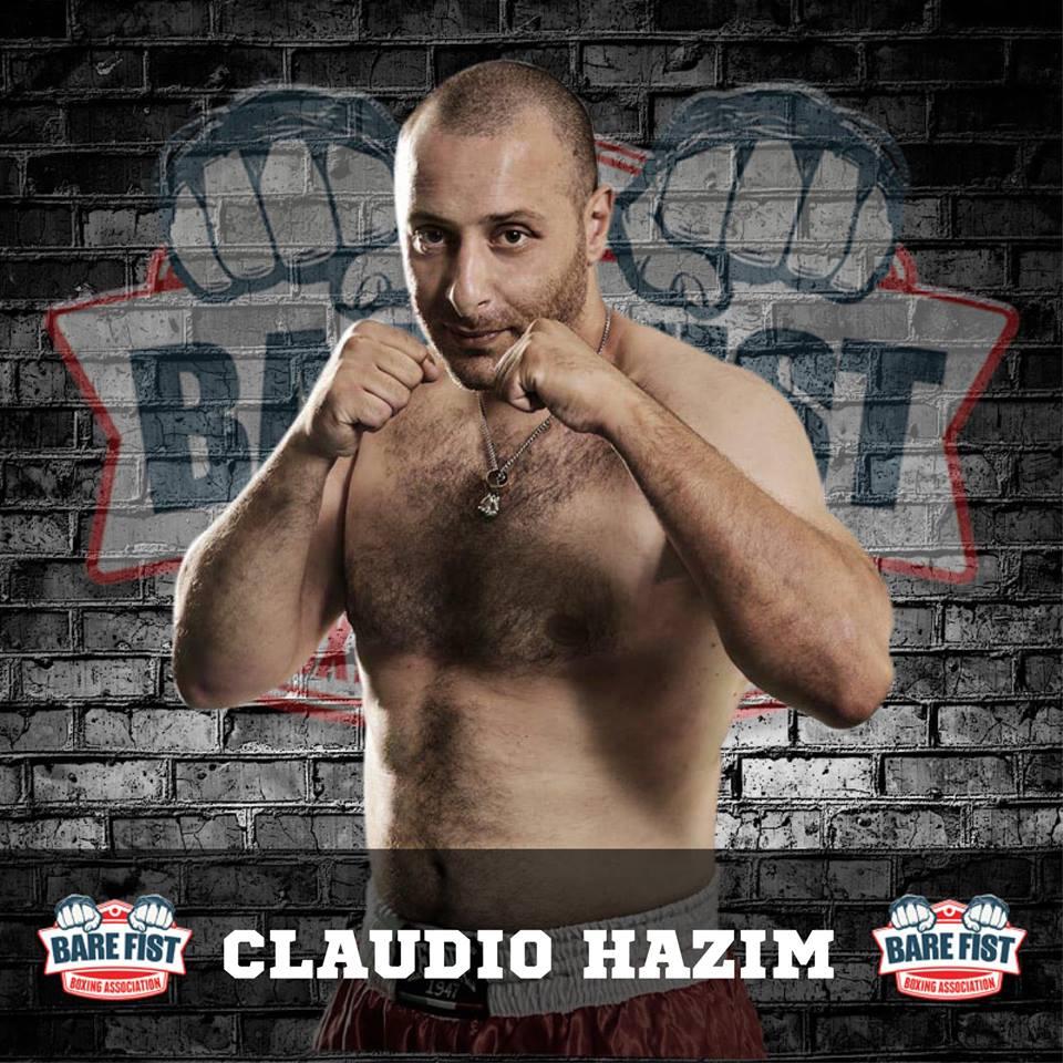 Claudio Hazin alla conquista della Bare Knuckle Boxing inglese (intervista) 1