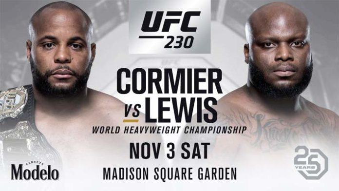 UFC 230 : CORMIER VS LEWIS 5