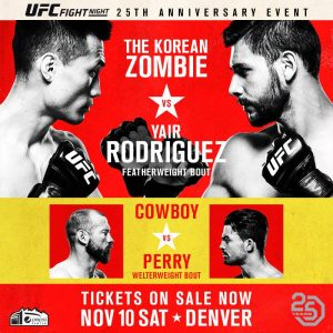 UFC Fight Night: Korean Zombie vs. Rodríguez 2