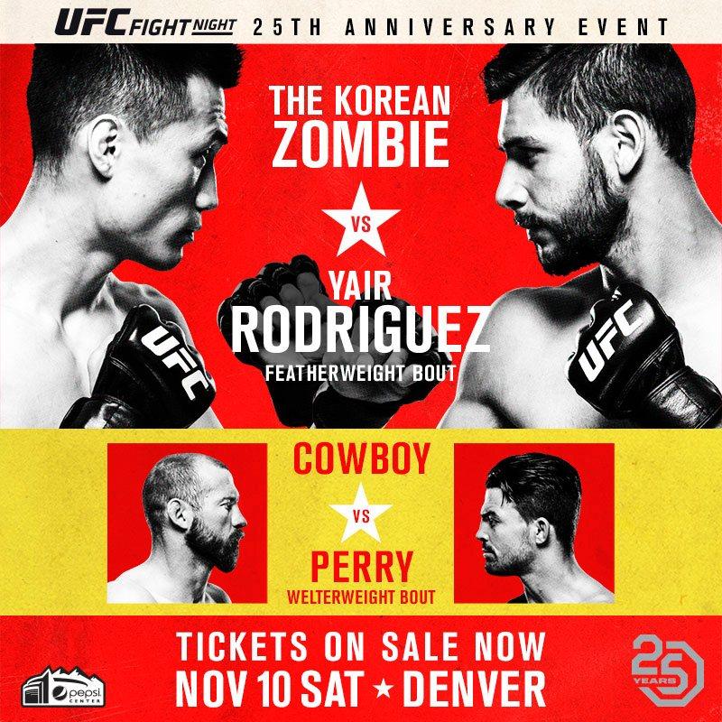 UFC Fight Night: Korean Zombie vs. Rodríguez 1