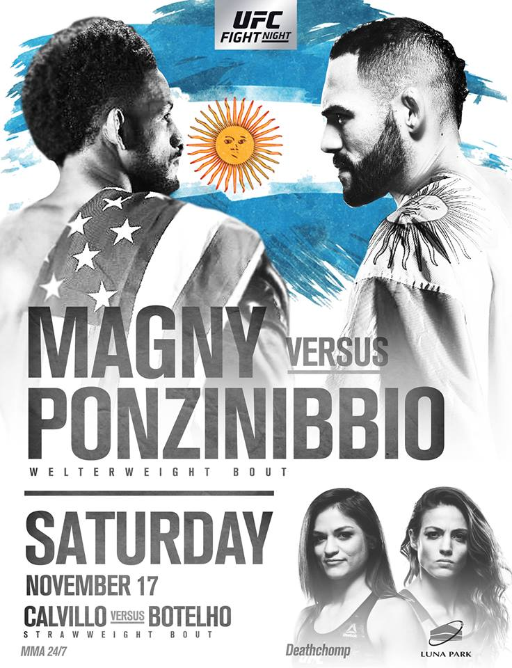 UFC Fight Night: Magny vs. Ponzinibbio / UFC Argentina 1