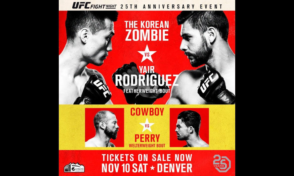 UFC Fight Night: Korean Zombie vs. Rodriguez 1
