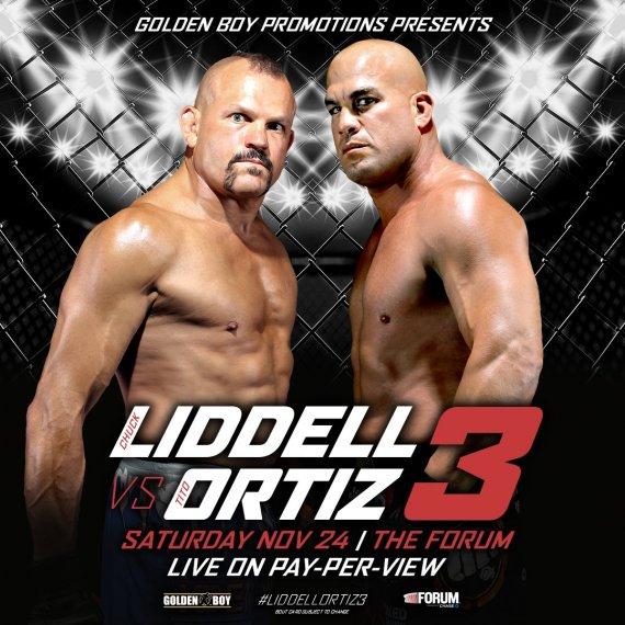 GOLDEN BOY MMA: LIDDELL VS ORTIZ III 1