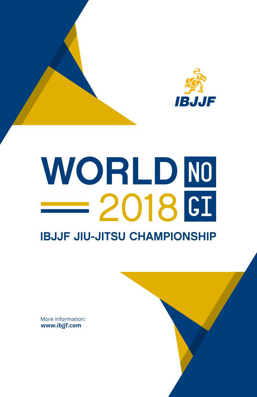 2018 World IBJJF Jiu-Jitsu No-Gi Championship 1