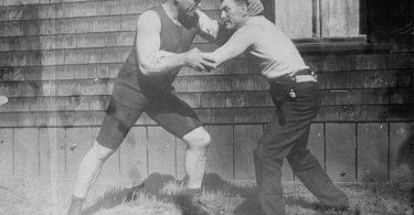 Striker vs Grappler: 1910 style. 8