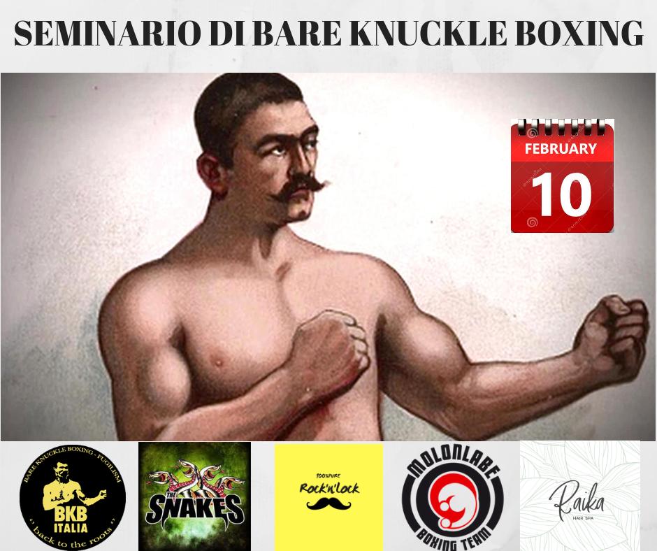 Cosa si impara in un seminario di Bare Knuckle Boxing e Pugilismo? 1