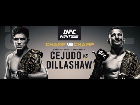 UFC ON ESPN+1: CEJUDO VS DILLASHAW 1