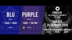 Kinboshi Elite Grappling Association: Report e Risultati 3