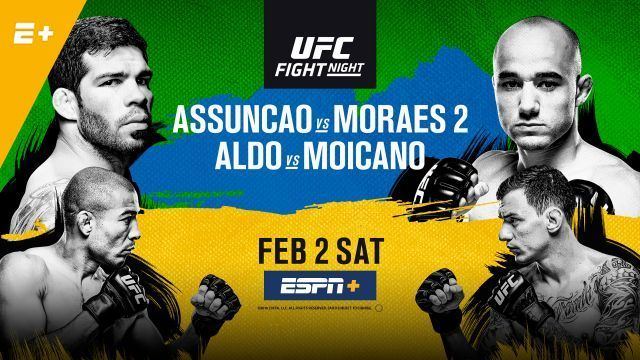 RISULTATI UFC FIGHT NIGHT 144: ASSUNCAO VS MORAES 1