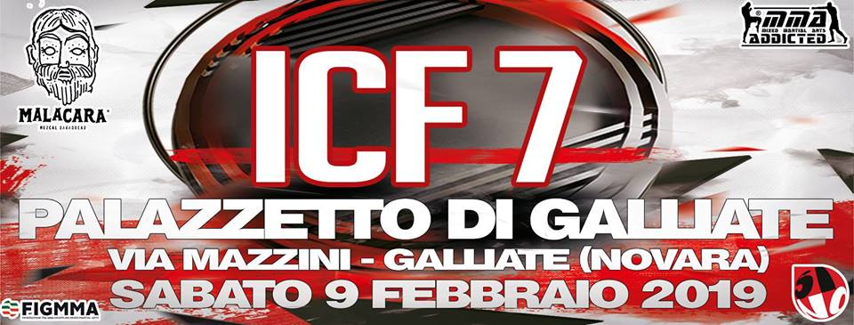 ICF 7: Cogliandro vs Nahaye (Novara) 1