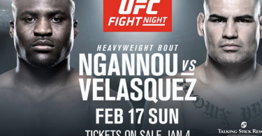 UFC ON ESPN 1: VELASQUEZ VS NGANNOU 5