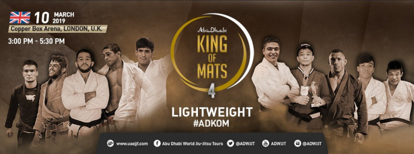 2019 Abu Dhabi King of Mats (Lightweight) 1