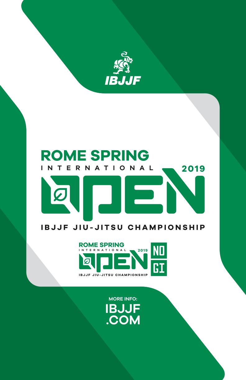 Rome Spring IBJJF International Open 1