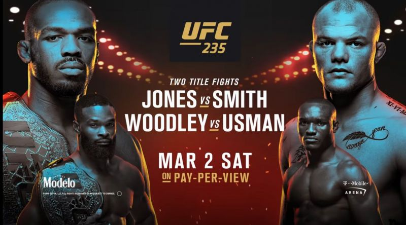 UFC 235: JONES VS SMITH 1