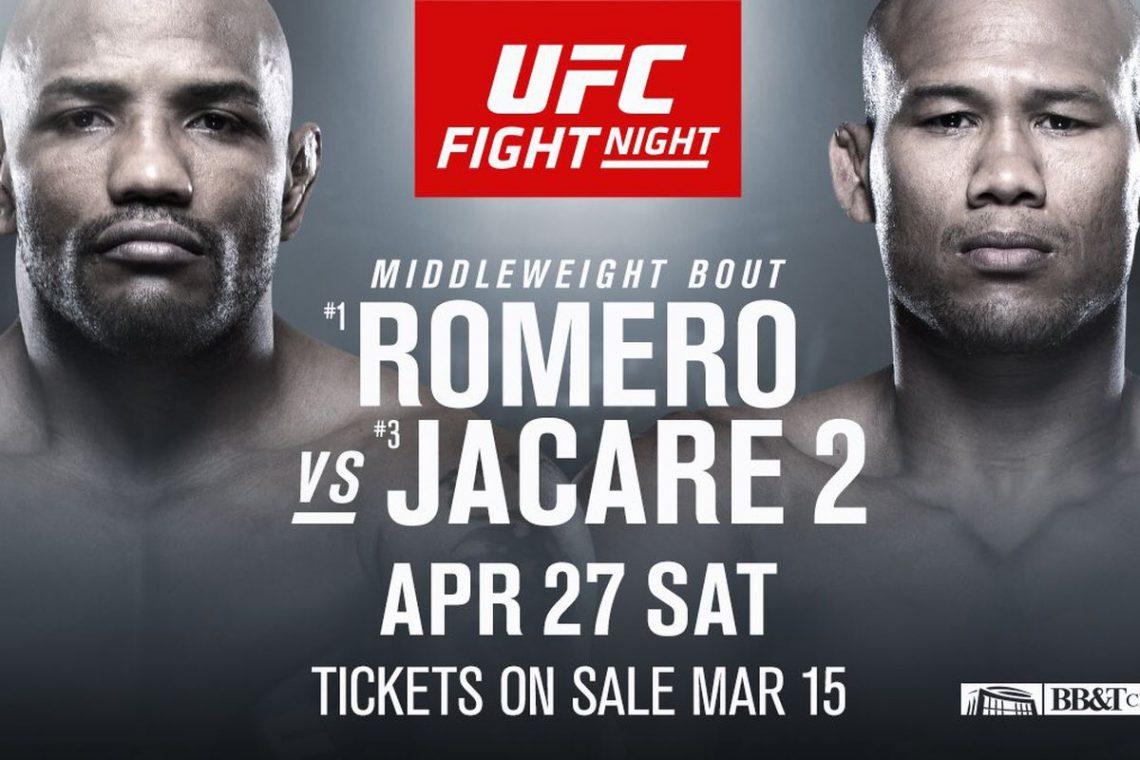 UFC on ESPN: Romero vs. Jacaré 2 1
