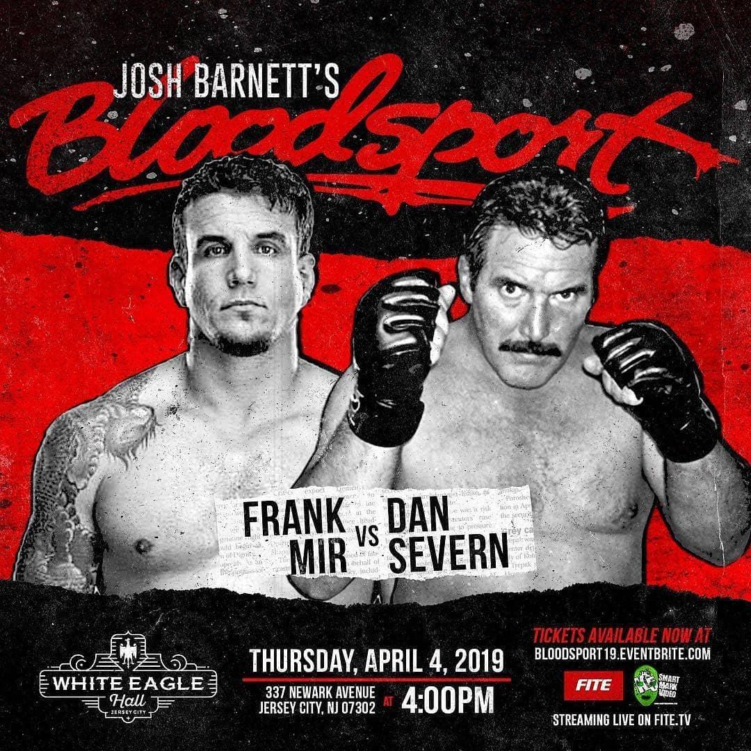 Josh Barnett's BloodSport 01: Non ho capito cosa sia, ma è il mio evento preferito 1