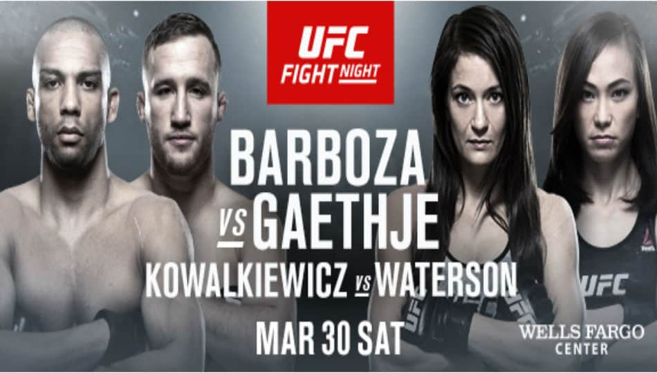RISULTATI UFC ON ESPN 2: BARBOZA VS GAETHJE 1