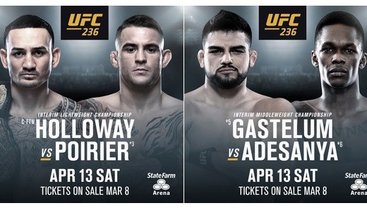 RISULTATI UFC236 (DIRETTA) 1
