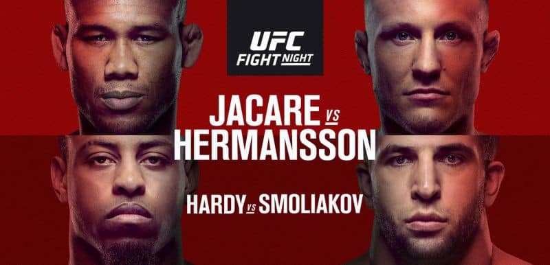UFC FIGHT NIGHT: JACARE VS HERMANSSON 1