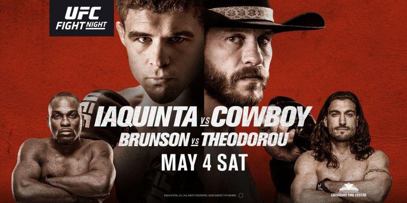 UFC FIGHT NIGHT: CERRONE VS. IAQUINTA 1