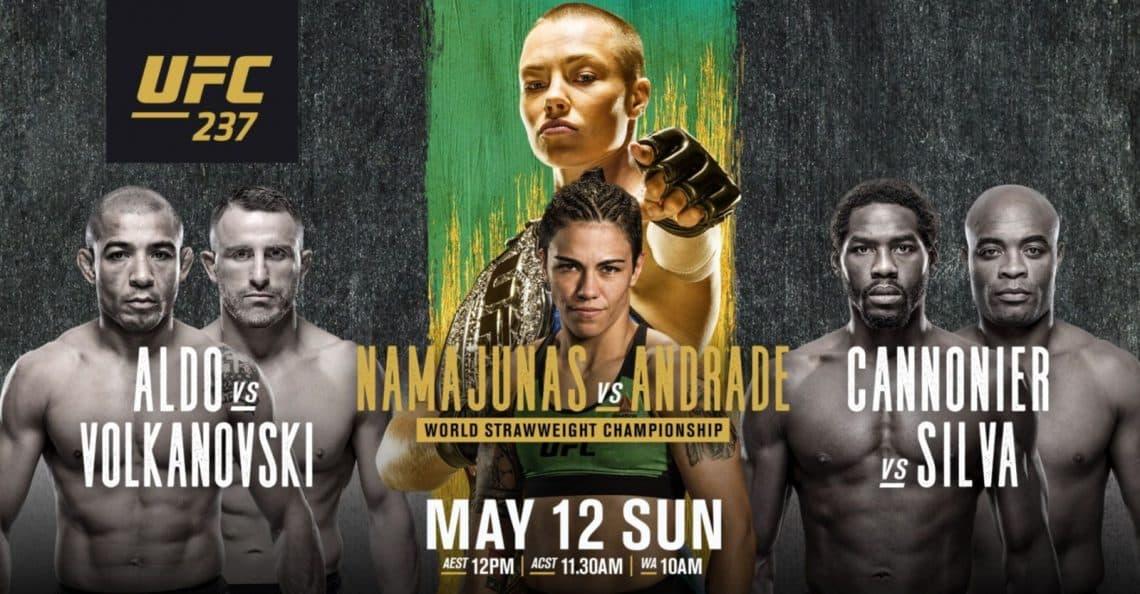 UFC 237 : NAMAJUNAS VS. ANDRADE 1