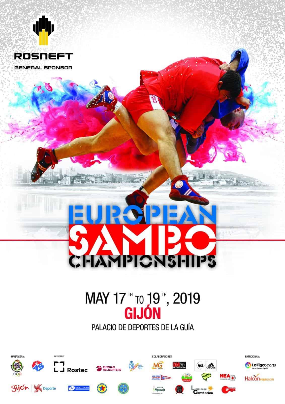 Europei di Sambo 2019 1