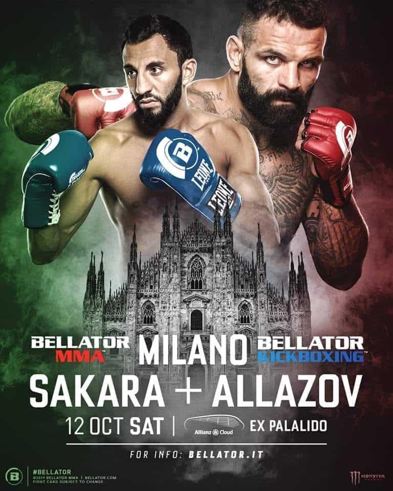 Bellator Milano 2019 (Bellator 230) - Sakara, Paternò e tanti altri 1