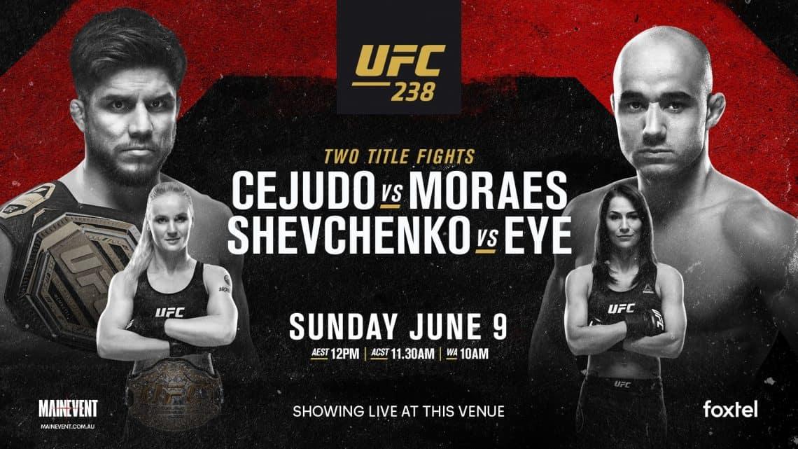 UFC 238 : CEJUDO VS. MORAES 13