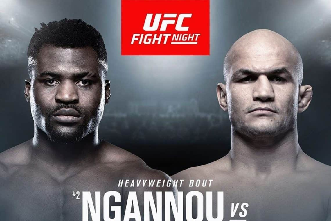 UFC ON ESPN3 : NGANNOU VS. DOS SANTOS 1