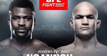 UFC ON ESPN3 : NGANNOU VS. DOS SANTOS 26