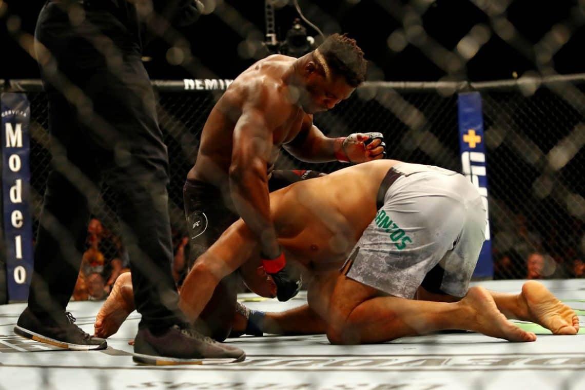 RISULTATI UFC ON ESPN 3: NGANNOU VS. DOS SANTOS 5