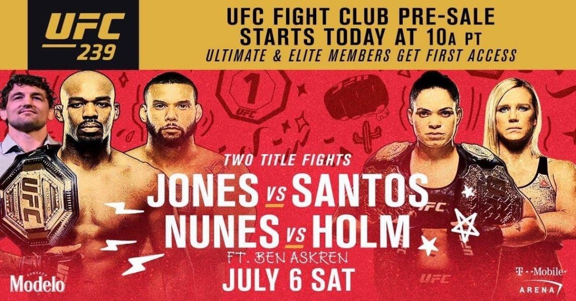 UFC 239: JONES VS. SANTOS 11