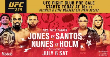 UFC 239: JONES VS. SANTOS 17