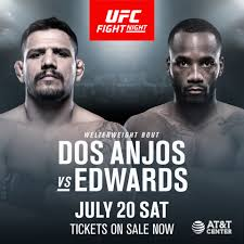 UFC on ESPN 4 : dos Anjos vs. Edwards 1