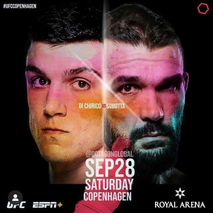 UFC Copenhagen 2019 avrà TRE fighter col tricolore! 5