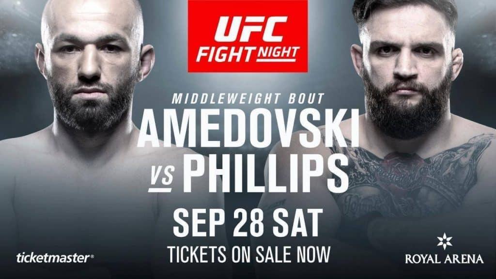 UFC Copenhagen 2019 avrà TRE fighter col tricolore! 6