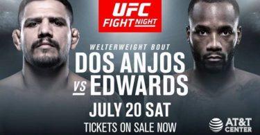 UFC ON ESPN 4: DOS ANJOS VS. EDWARDS 1