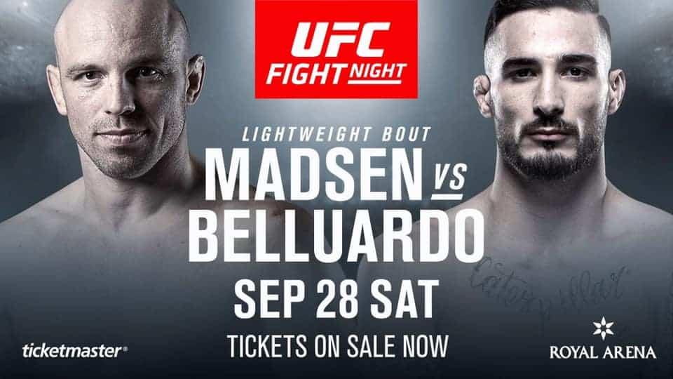 UFC Copenhagen 2019 avrà TRE fighter col tricolore! 7