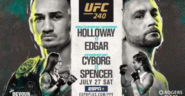 UFC 240: HOLLOWAY VS. EDGAR 15