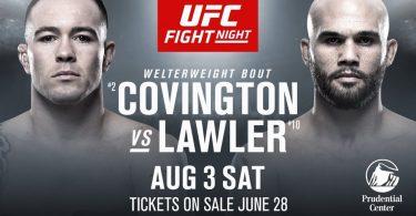 UFC ON ESPN 5: COVINGTON VS. LAWLER + MARA BORELLA 7