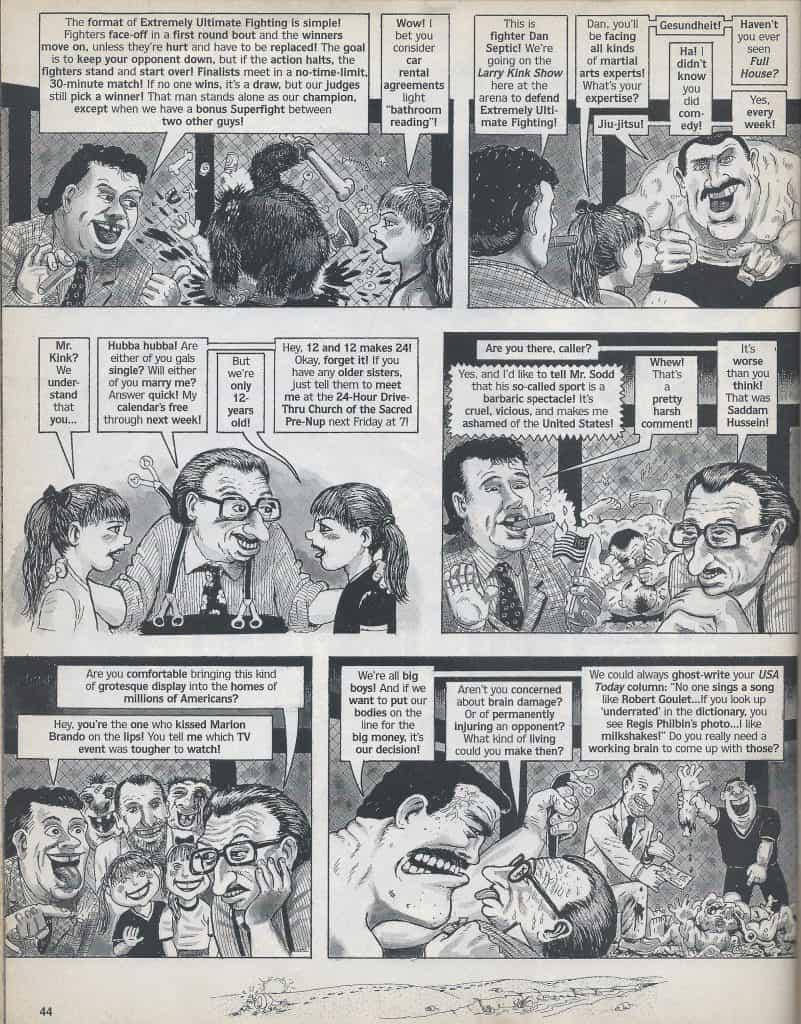 l'UFC anni 90 visto da MAD Magazine 19