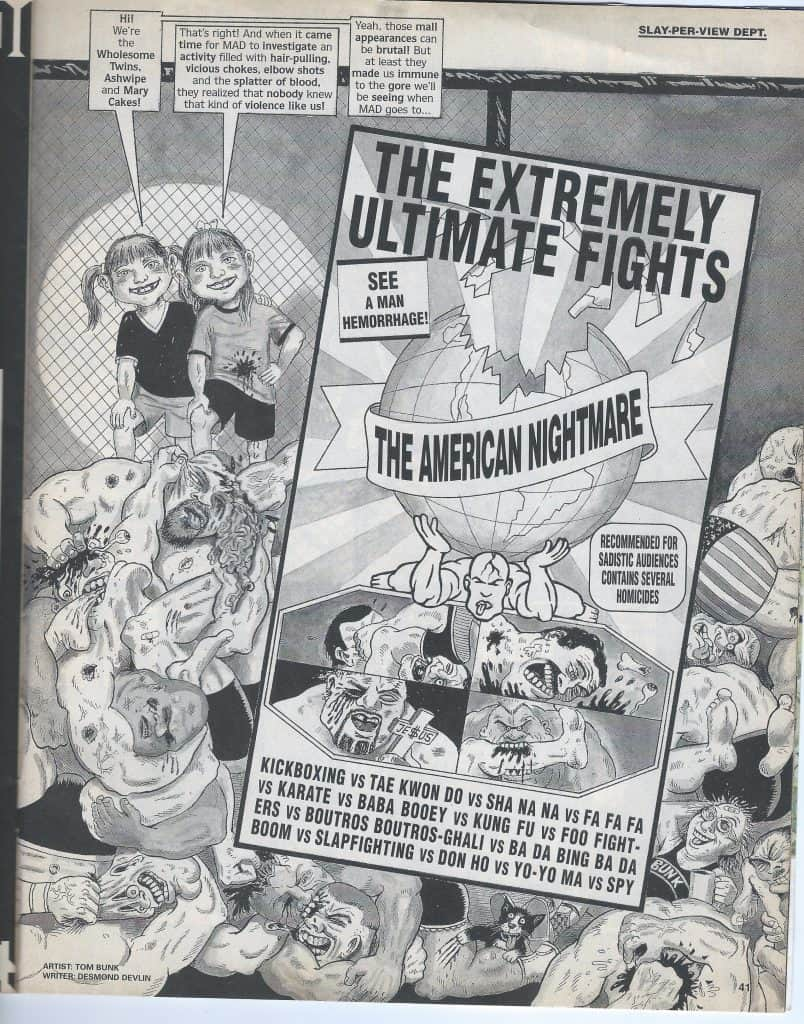l'UFC anni 90 visto da MAD Magazine 16