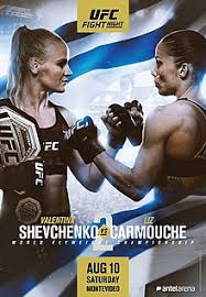 Risultato UFC Fight Night: Shevchenko vs. Carmouche 2 (Uruguay 2019) 2