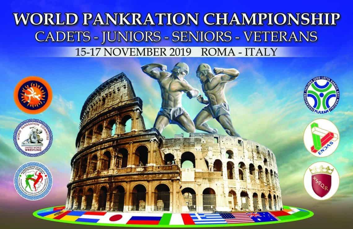 Campionato mondo Pankration Roma 1