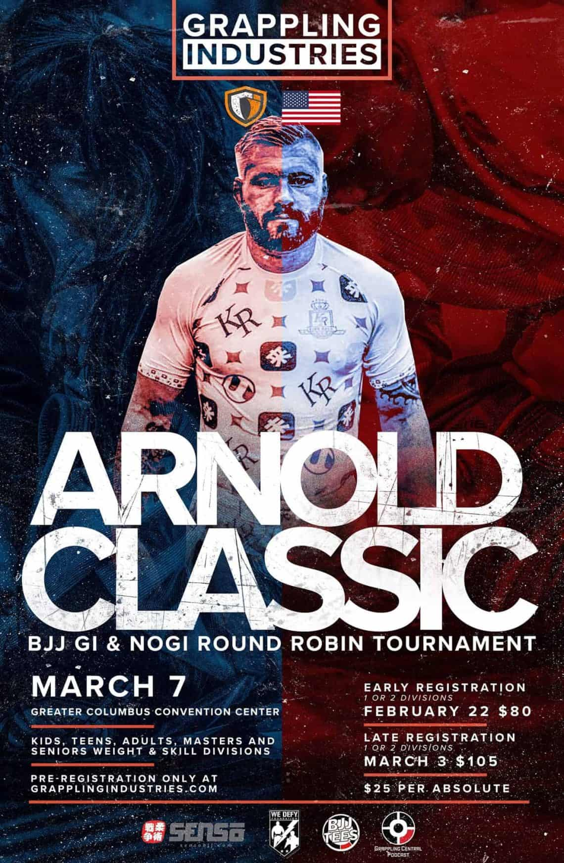 Arnold Classic 2020 (No Gi Robin tournament USA) 1