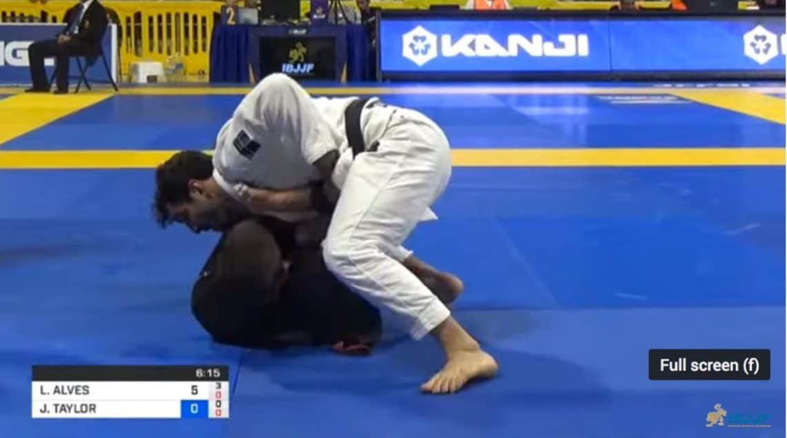 Video Lucas Lepri VS John Combs 1