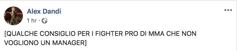 Alex Dandi ci da 24 Consigli per una persona che vuole diventare fighter PRO di MMA 4